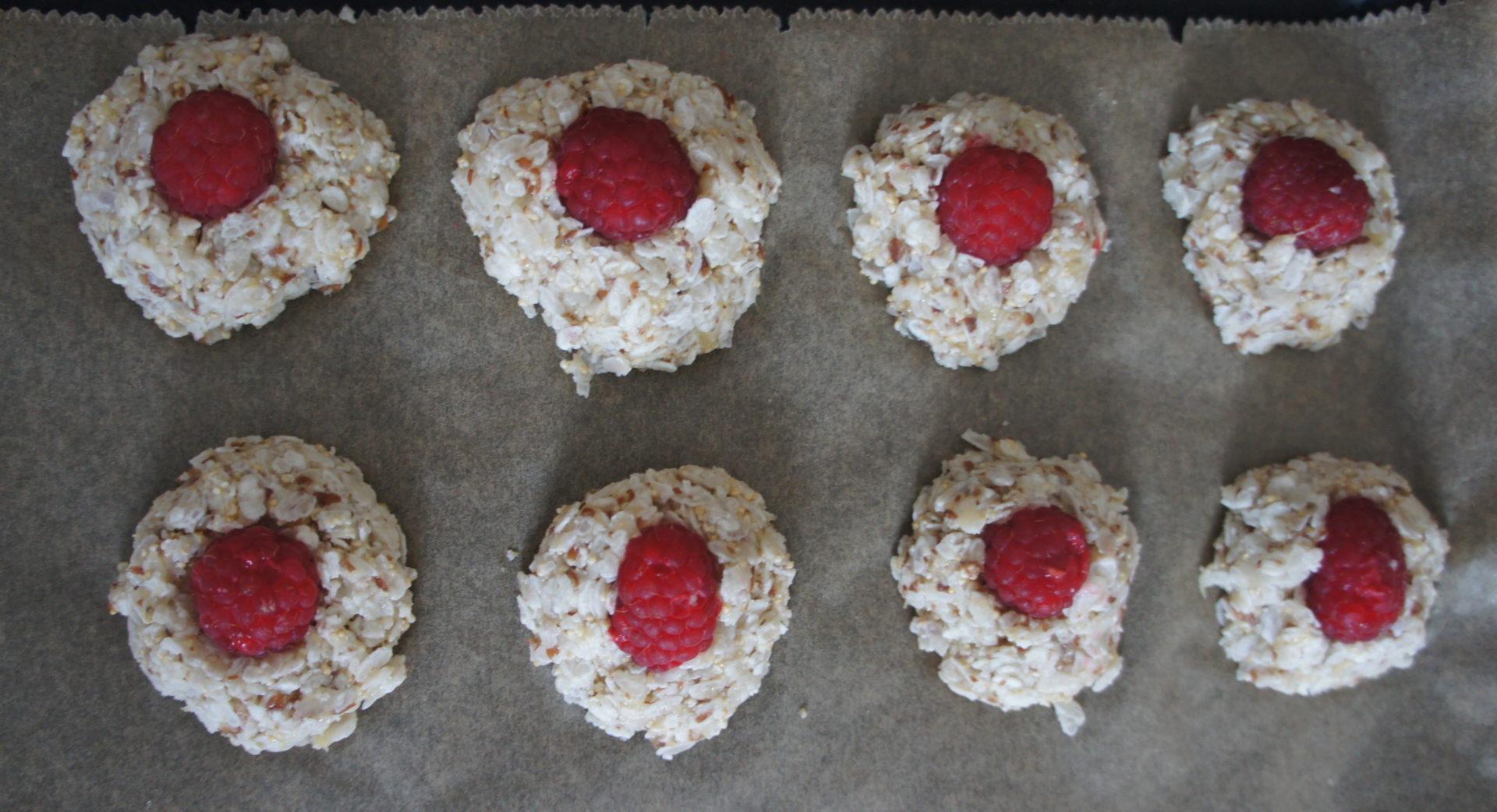 Ciasteczka przed pieczeniem