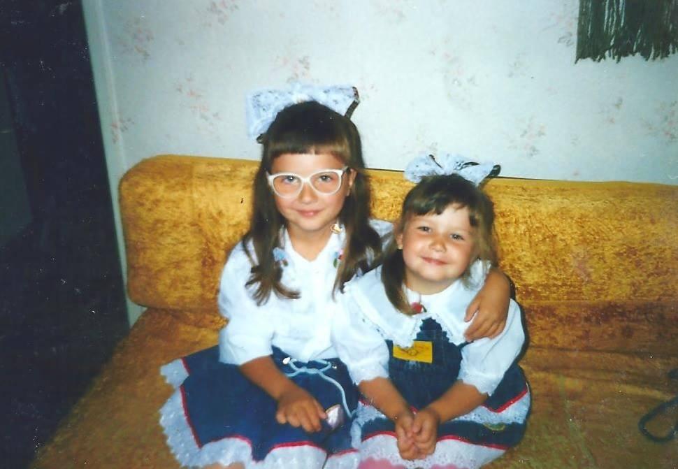 Prawie jak bliźniaczki:)