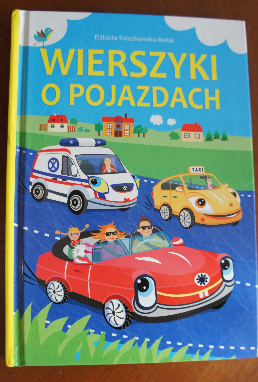 Książki o pojazdach dla młodszych i starszych dzieci